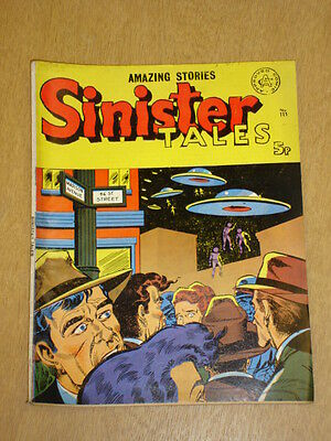Sinister Tales #111 Alan Class British Comic Vintage Amazing Stories