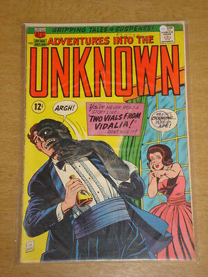 Adventures Into The Unknown #169 Vg (4.0) Acg Comics December 1966-Jan 1967 (A)