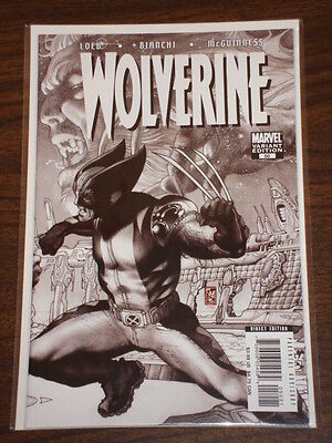 Wolverine #50 Vol3 Black & White Variant Marvel Comics March 2007