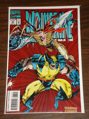 Wolverine #76 Vol1 Marvel Comics X-Men Scarce December 1993