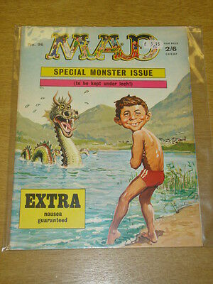 Mad Magazine #96 Fn Thorpe And Porter Uk Magazine Monsters