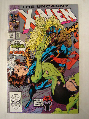X-Men Uncanny #269 Marvel Comic Jim Lee Art October 1990