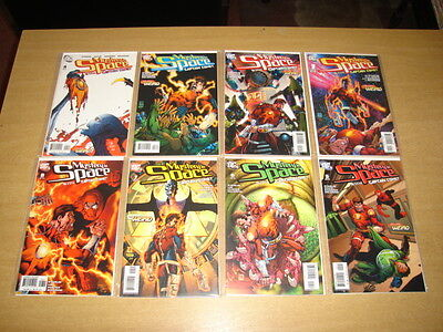Mystery In Space With Captain Comet #1-8 Dc Comics 2006 Jim Starlin Set (8)