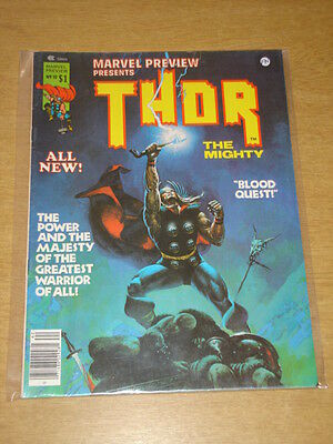 Marvel Preview Presents #10 Thor Fn Curtis Us Magazine