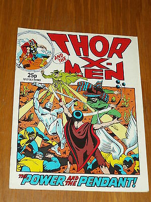 Thor Mighty And The X-Men #27 Marvel British Weekly 19 October 1983^