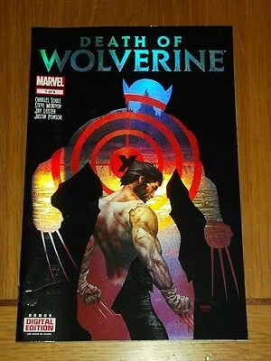 Death Of Wolverine #1 Marvel Comics