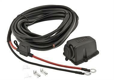 ARB 12/ 24 Volt DC Wiring Kit for Fridge Freezer 10900027 Black