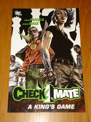 Checkmate A King's Game Graphic Novel Rucka Saiz Dc Graphic Novel 9781845764364