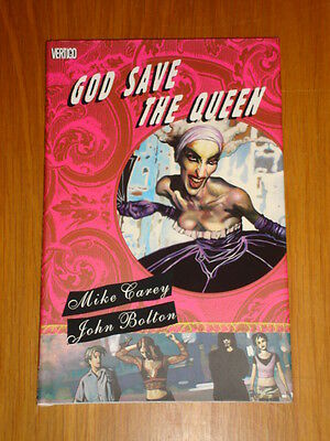 God Save The Queen Dc Vertigo Mike Carey Hardback Graphic Novel 9781401203030