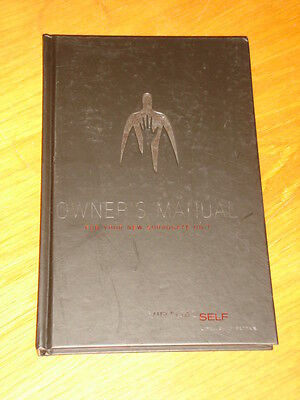 Owner's Manual Hardback For Your New Surrogate Unit Virtual Self < 9781603090452