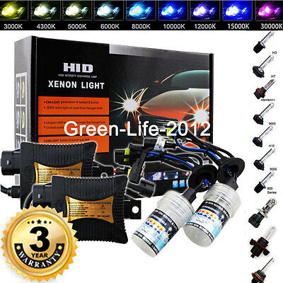 55W HID BI-Xenon Headlight Conversion KIT Bulbs H1 H3 H4 H7 H8 9005 9006 Hi-Lo