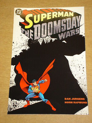 Superman Doomsday Wars Book 1 Dc Comics Dan Jurgens Graphic Novel