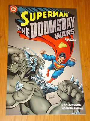 Superman Doomsday Wars Book 2 Dc Comics Dan Jurgens Graphic Novel