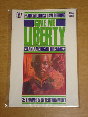 Give Me Liberty #2 Travel And Entertainment Dave Gibbons Graphic Novel