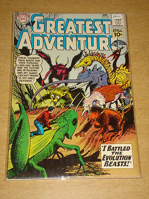 My Greatest Adventure #54 Fn+ (6.5) Dc Comics April 1961 **