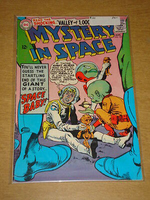 Mystery In Space #101 Fn- (5.5) Dc Comics August 1965 **