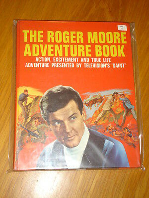 Roger Moore Adventure Book British Annual 1966 Vf
