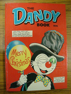 Dandy Book British Annual 1975 Korky Nice Condition