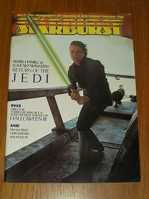 Starburst #59 British Sci-Fi Monthly Magazine July 1983 Return Of The Jedi