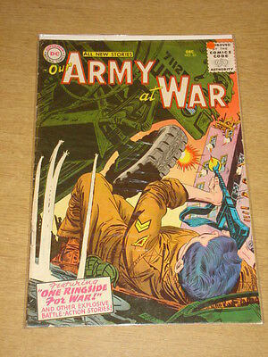 Our Army At War #53 Fn- (5.5) Dc Comics December 1956 **