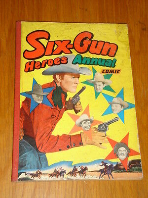Six-Gun Heroes British Western Comic Annual <
