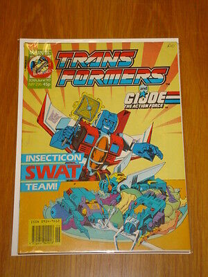 Transformers British Weekly #276 Marvel Uk Comic 1990 With Free Gift<