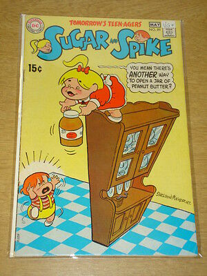 Sugar And Spike #89 Vg+ (4.5) Dc Comics May 1970 **