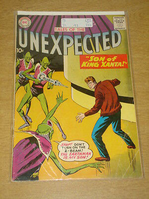 Tales Of The Unexpected #42 Vg (4.0) Dc Comics October 1959 **