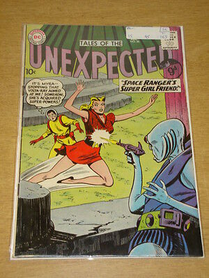 Tales Of The Unexpected #56 Fn- (5.5) Dc Comics December 1960 **