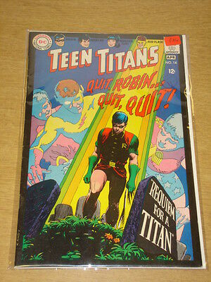 Teen Titans #14 Fn+ (6.5) Dc Comics April 1968 **
