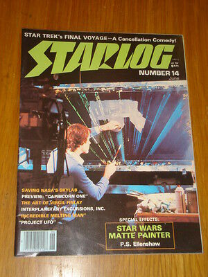 Starlog #14 Sci-Fi Magazine June 1978 Star Wars Star Trek Final Voyage