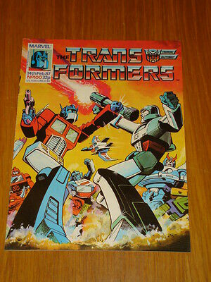 Transformers British Weekly #100 Marvel Uk Comic 1987
