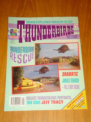 Thunderbirds #47 British Weekly 1993 July 24Th
