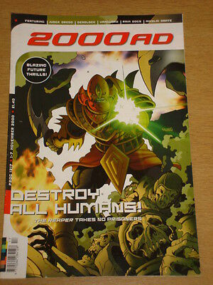 2000Ad #1217 British Weekly Comic Judge Dredd Nov 2000 *