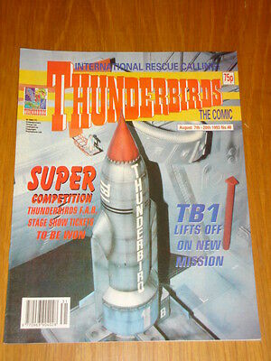 Thunderbirds #48 British Weekly 1993 August 7Th