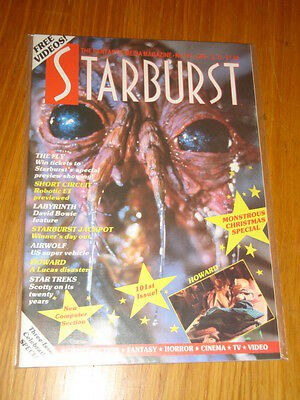 Starburst #101 British Sci-Fi Monthly Magazine January 1987 Labyrinth Bowie