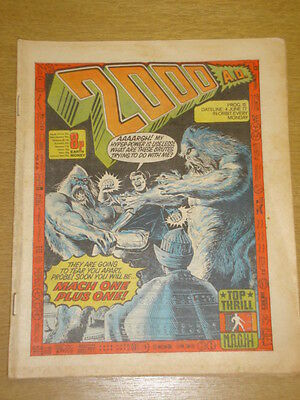 2000Ad #15 British Weekly Comic Judge Dredd Jun 1977 *