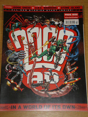 2000Ad #1550 British Weekly Comic Judge Dredd Aug 2007 *