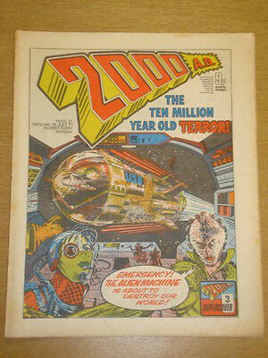 2000Ad #21 British Weekly Comic Judge Dredd Jul 1977 *