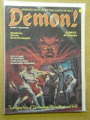 Demon! #1 Vf- Portman Horror Magazine