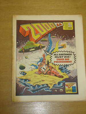 2000Ad #35 British Weekly Comic Judge Dredd Oct 1977 *