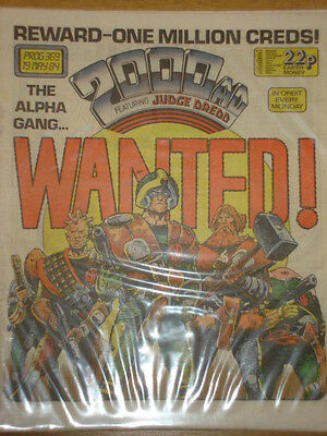 2000Ad #369 British Weekly Comic Judge Dredd *
