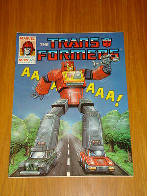 Transformers British Weekly #139 Marvel Uk Comic 1987