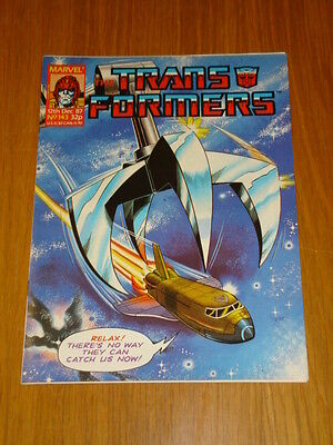 Transformers British Weekly #143 Marvel Uk Comic 1987