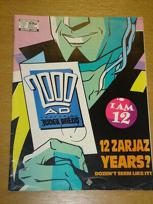 2000Ad #615 British Weekly Comic Judge Dredd *