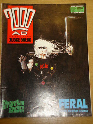 2000Ad #617 British Weekly Comic Judge Dredd *