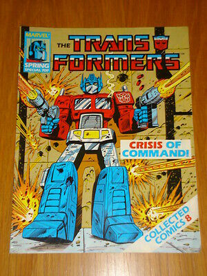 Transformers Spring Special Collected Comics #8 Marvel April 1988