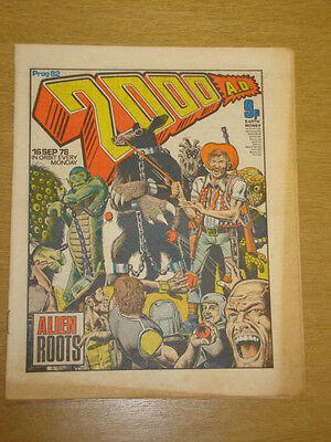 2000Ad #82 British Weekly Comic Judge Dredd *