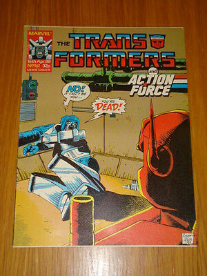 Transformers British Weekly #161 Marvel Uk Comic 1988