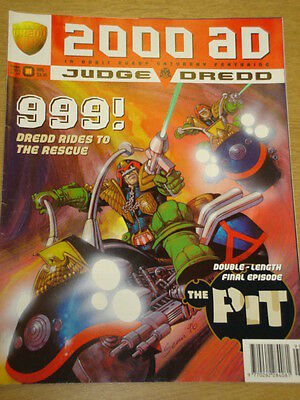 2000Ad #999 British Weekly Comic Judge Dredd *